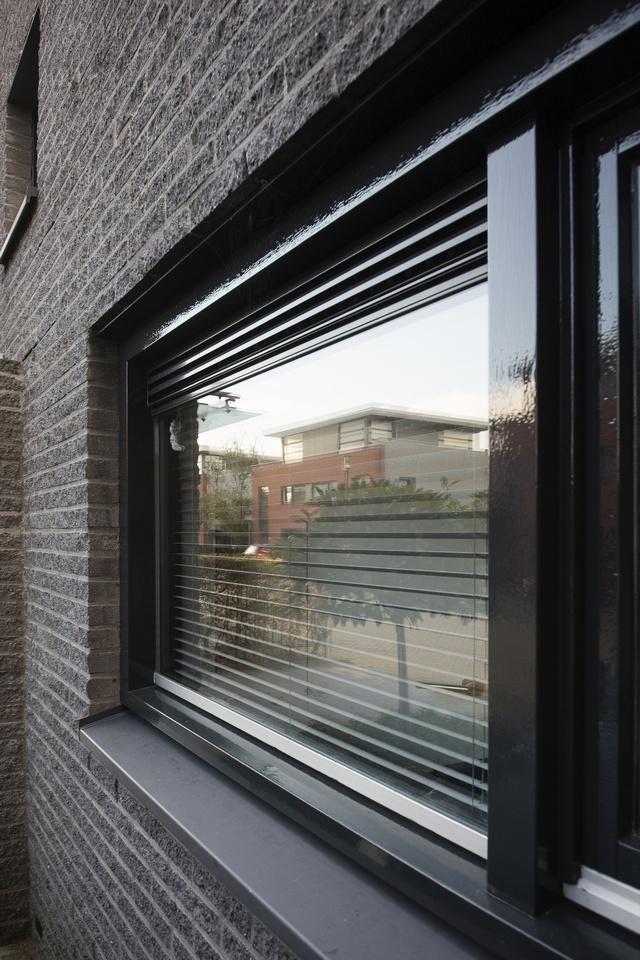 Gehele buitenschilderwerk woning aan het (Amrum, Zaandam)