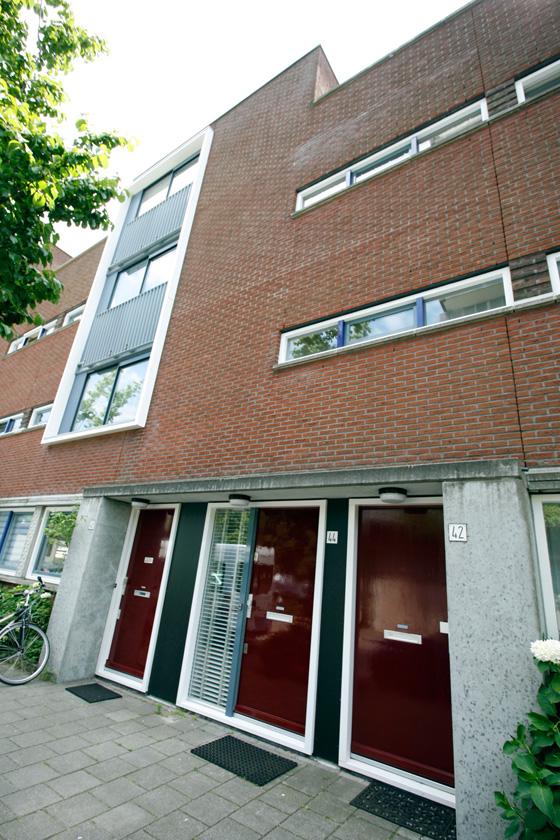 Gehele buitenschilderwerk 4 woningen (Bonnefantenstraat, Amsterdam)