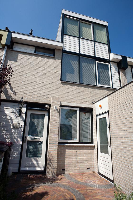 Gehele buitenschilderwerk woning (Zaandam)