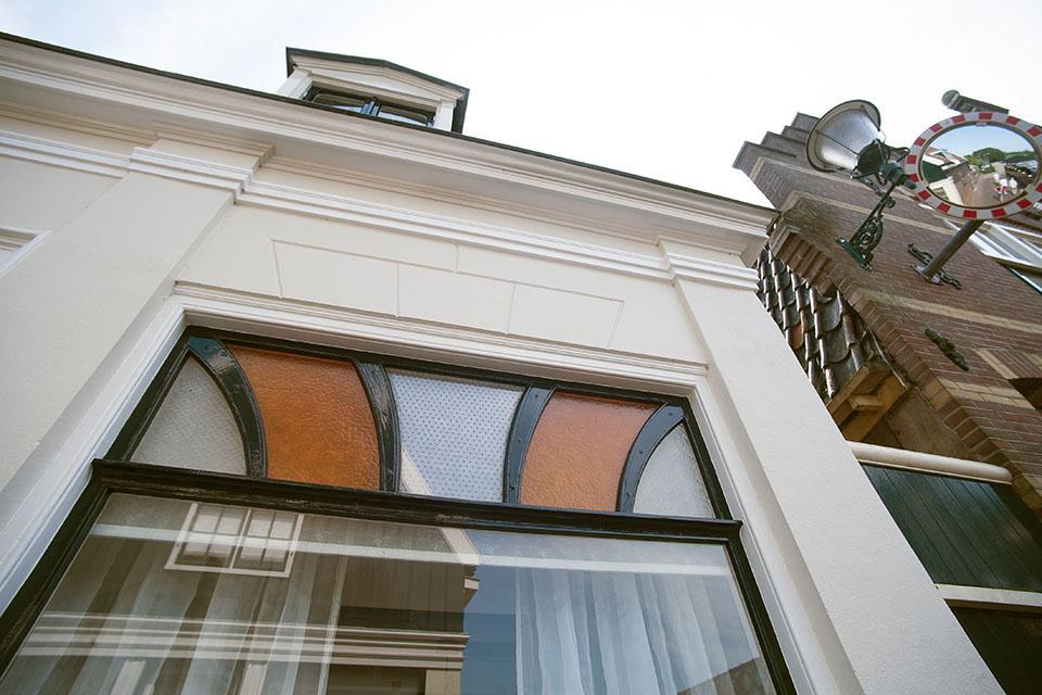 Gehele buitenschilderwerk monumentale vrijstaande woning (De Rijp)