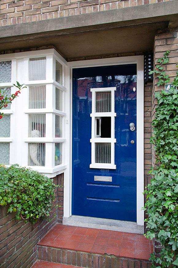 Gehele buitenschilderwerk woning schildersbuurt (Frans Halsstraat, Zaandam)
