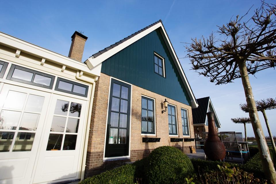 Buitenschilderwerk vrijstaande woning (Kalverringdijk, Zaandam)