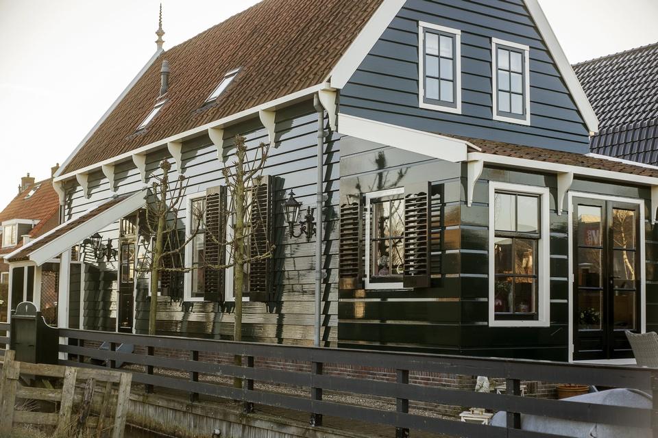 Gehele buitenschilderwerk woning (Westknollendam)