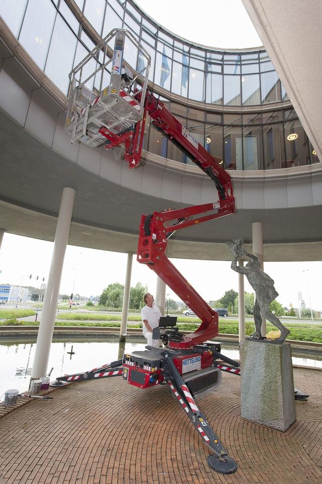 Buitenschilderwerk Albert Heijn gebouw (Provincialeweg, Zaandam)