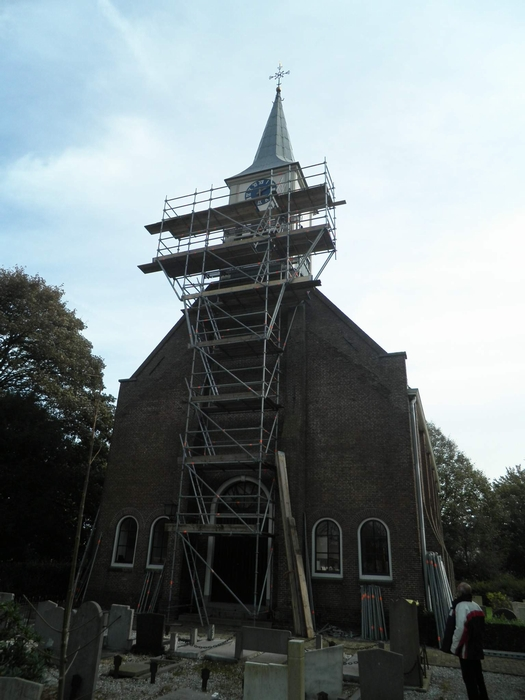 Schilderwerk Kerktoren (Jisp)