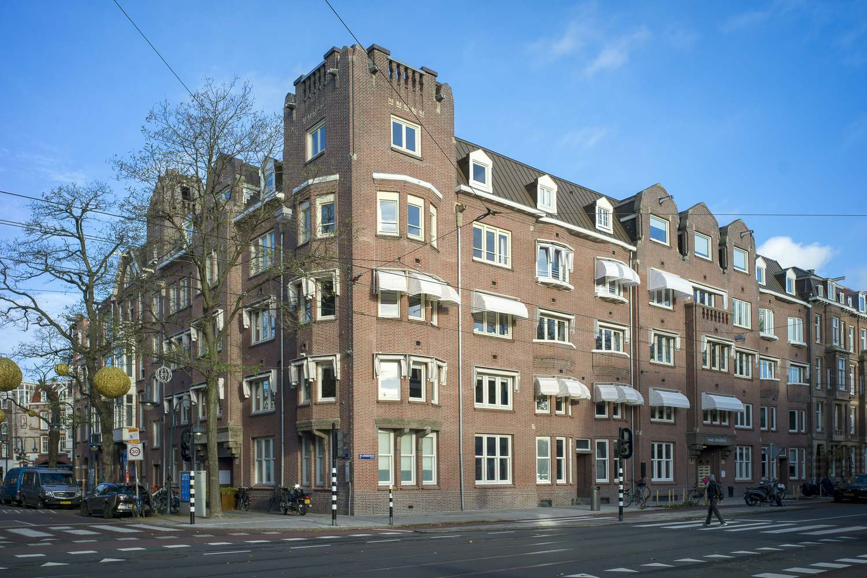 Buitenschilderwerk VVE De Lairessestraat Amsterdam