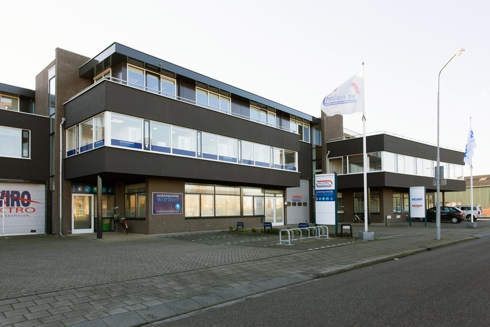 Buitenschilderwerk bedrijfsverzamelgebouw Koetserstraat, Wormer