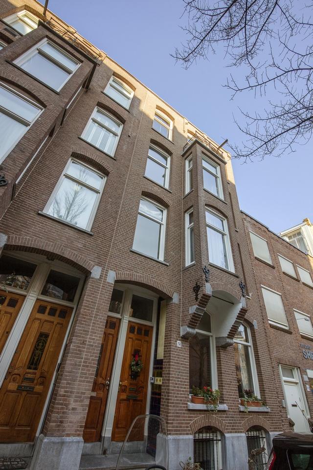 Gehele buitenschilderwerk van het pand VVE Joh. Verhulststraat (Amsterdam)