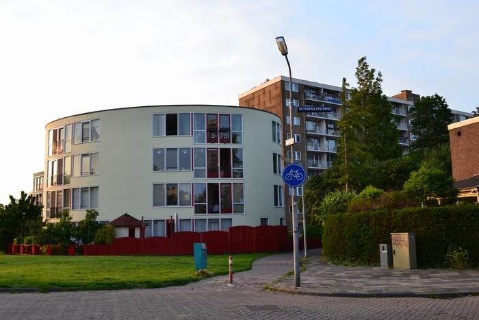 Buitenschilderwerk 2 appartementengebouwen (Vaartkade, Zaandam)